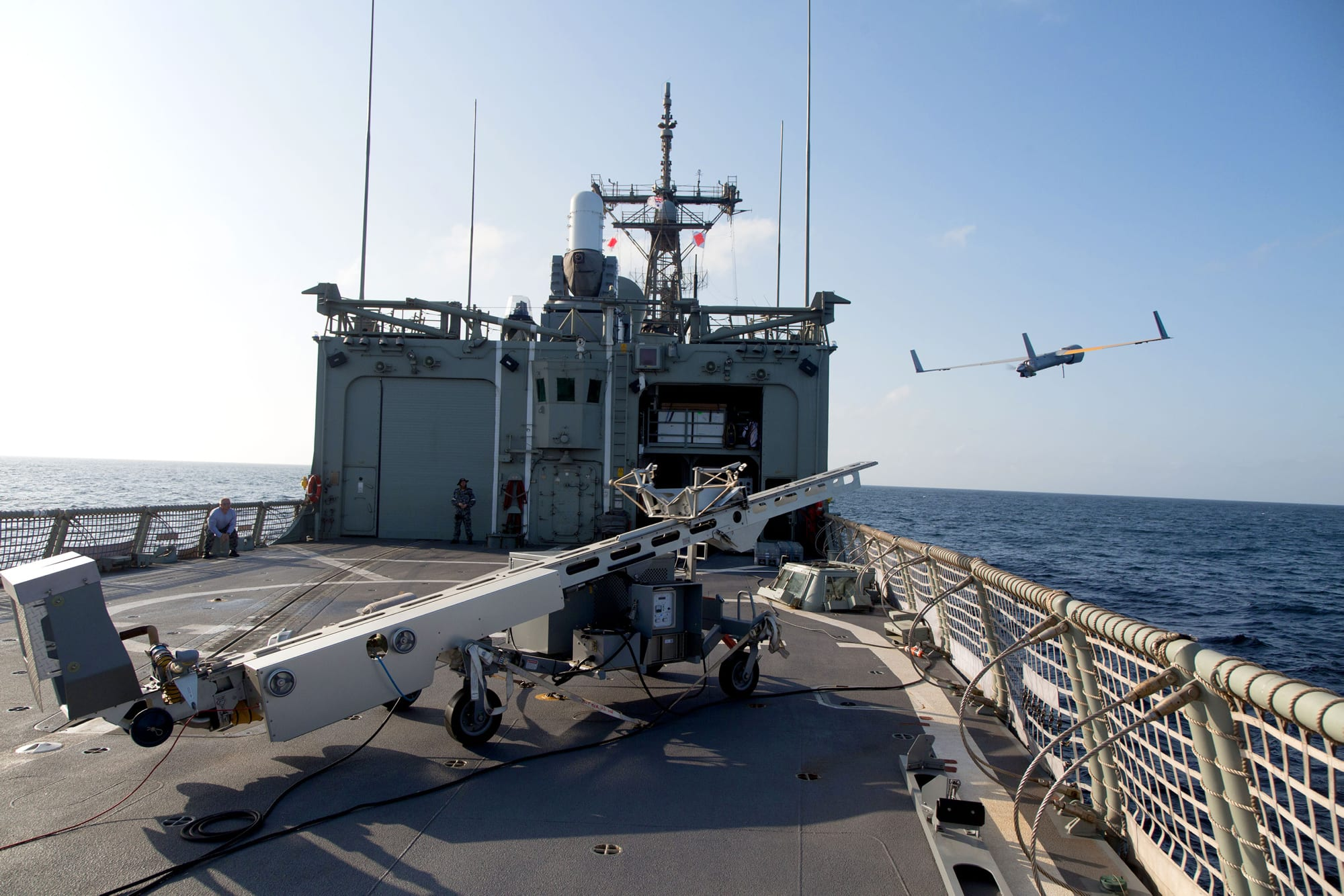 ScanEagle maritime operations