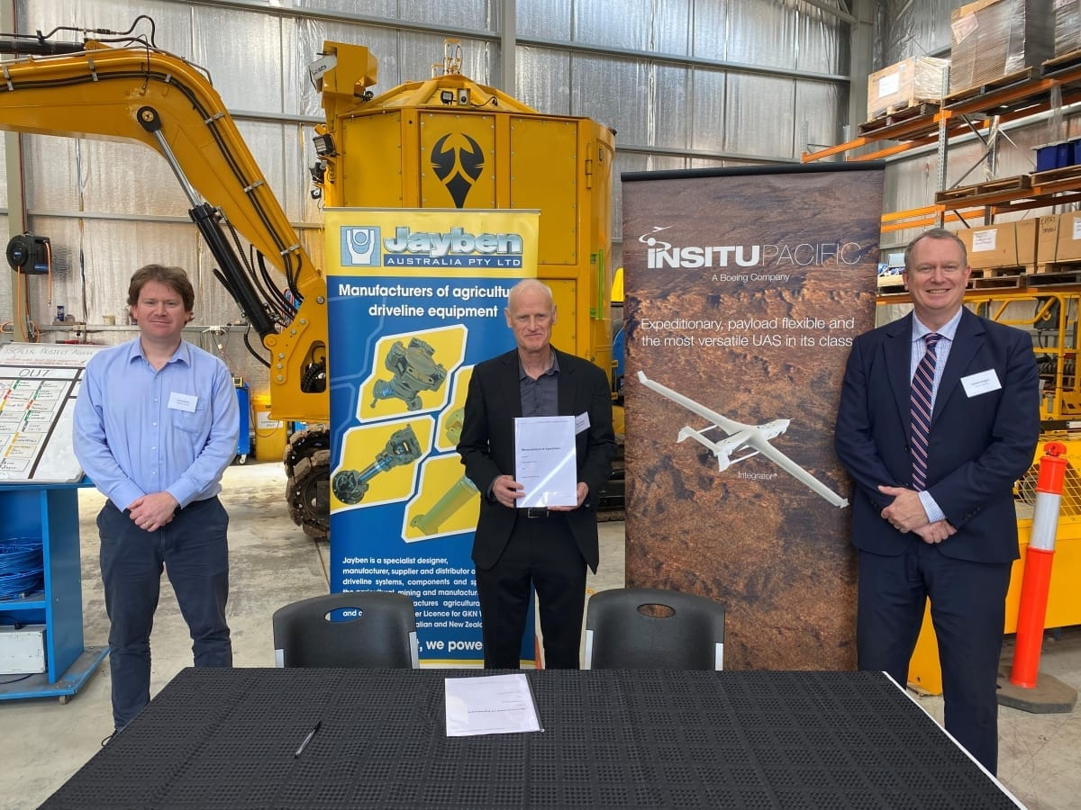 Insitu Pacific - Insitu Pacific, Jayben Group partner to develop sovereign industry manufacturing capability