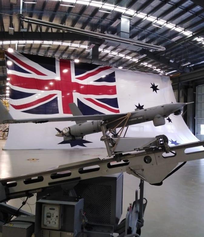 ScanEagle at Royal Australian Navy's 822X Squadron