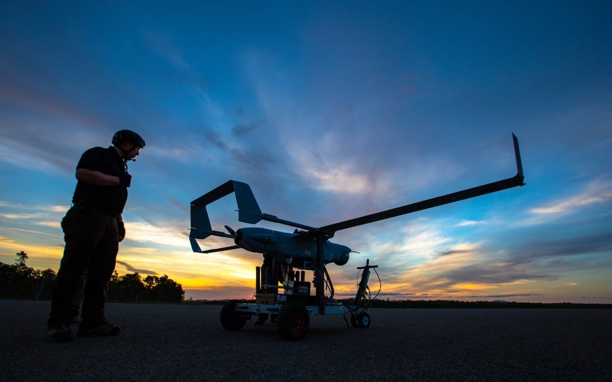 Integrator in Australia at sunset