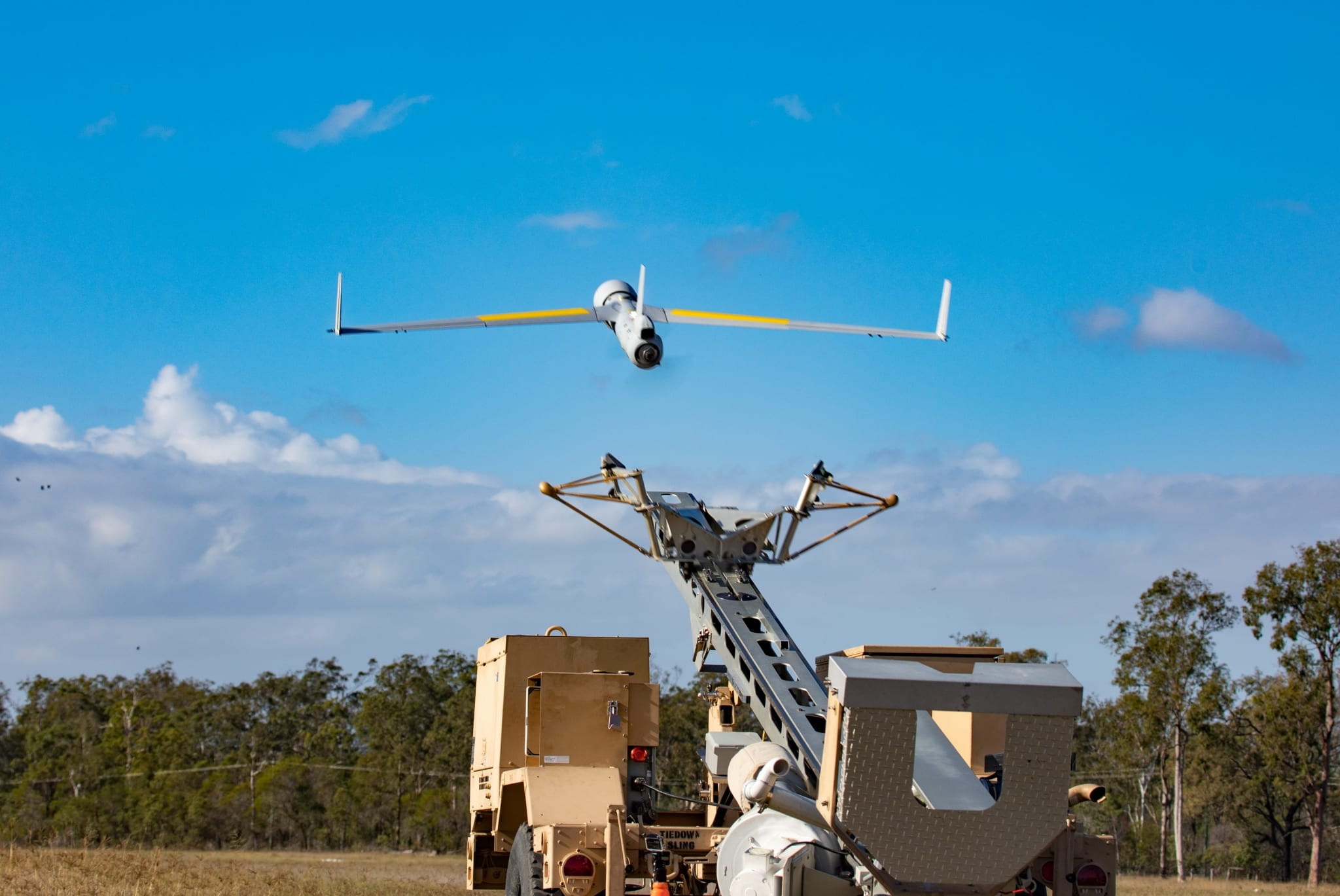 ScanEagle flight testing with Orbital UAV engine