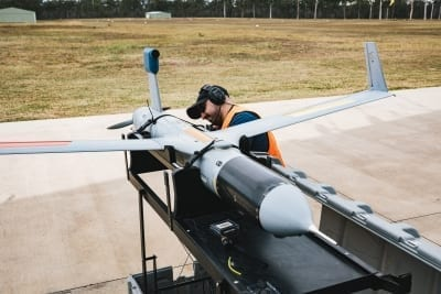 Detect and Avoid tests with ScanEagle - pre-flight